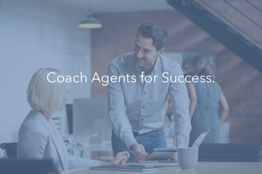 coach agents for call center performance