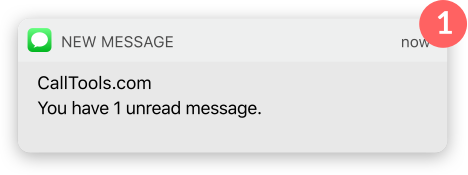 New Message Notification