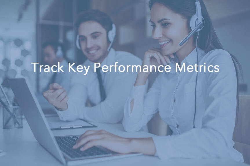 track key performance metrics