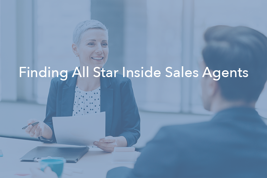 Interview Inside Sales Agents